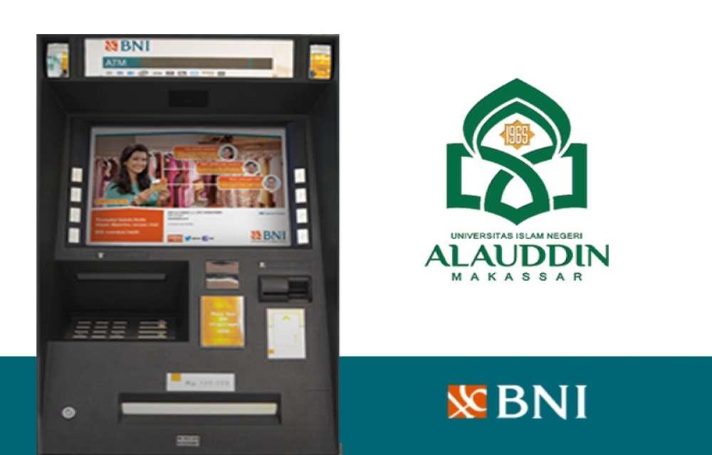 Ilustrasi Cara pembayaran SPP UINAM Melalui ATM BNI Seluruh Indonesia